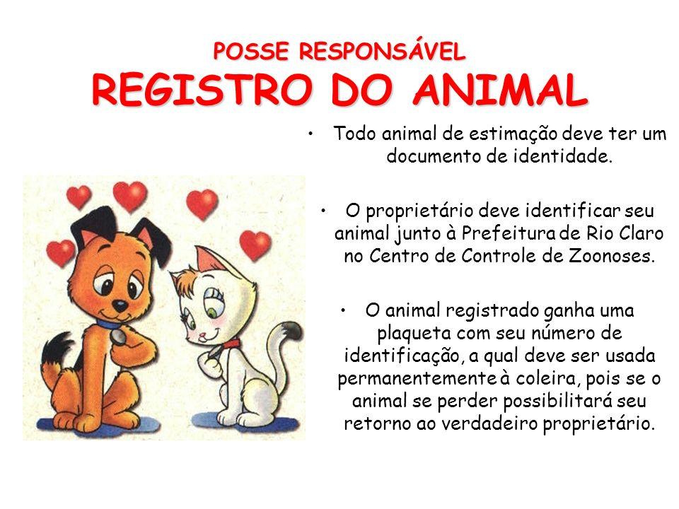 POSSE RESPONSÁVEL DOMICIALIAÇÃO Mantenha seu animal de estimação dentro dos limites de sua casa ou quintal, mas NUNCA PRESO EM CORRENTE!!! Animais sol