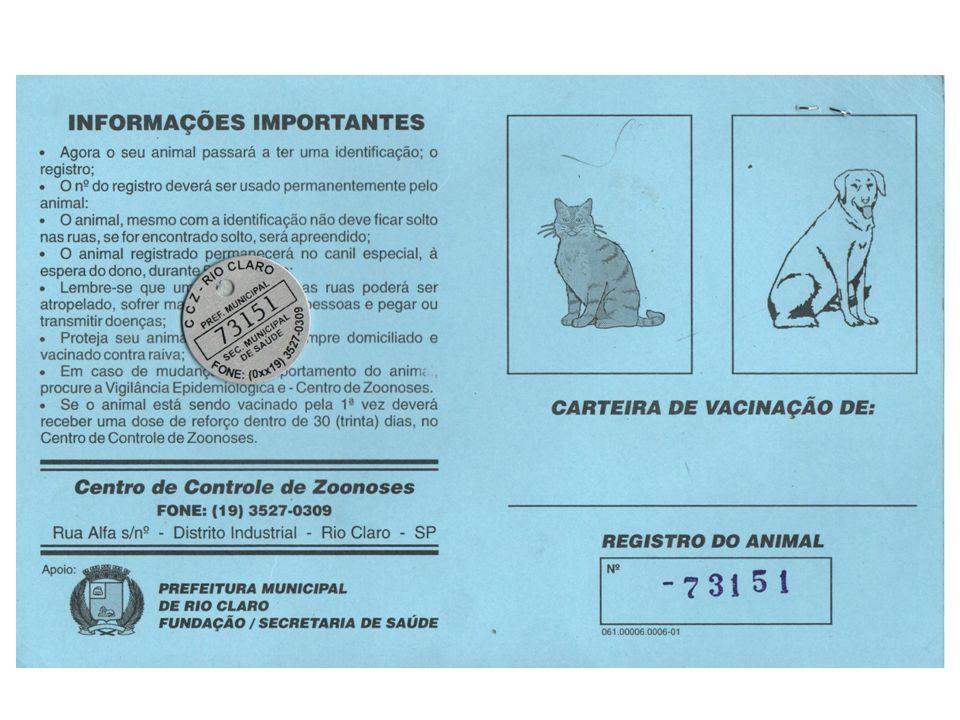 POSSE RESPONSÁVEL REGISTRO DO ANIMAL Todo animal de estimação deve ter um documento de identidade. O proprietário deve identificar seu animal junto à