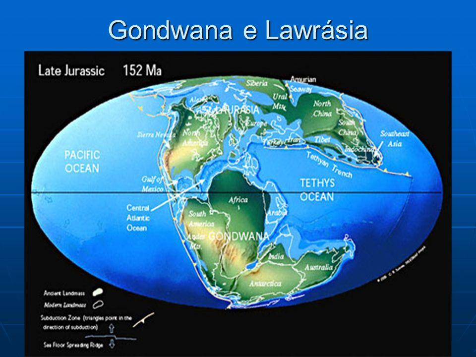 Gondwana e Lawrásia