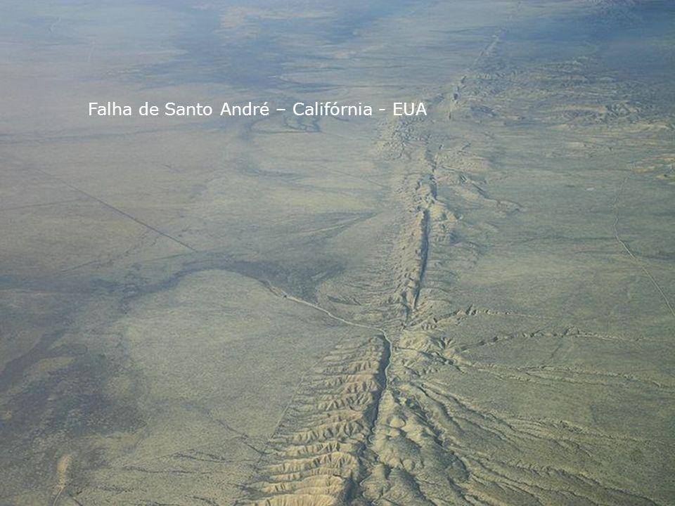 Falha de Santo André – Califórnia - EUA