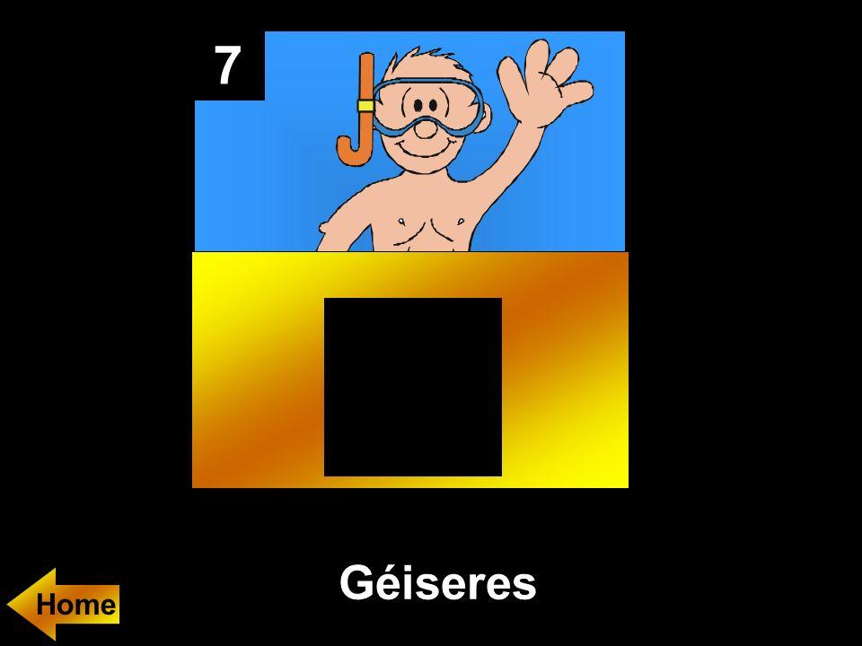 7 Géiseres