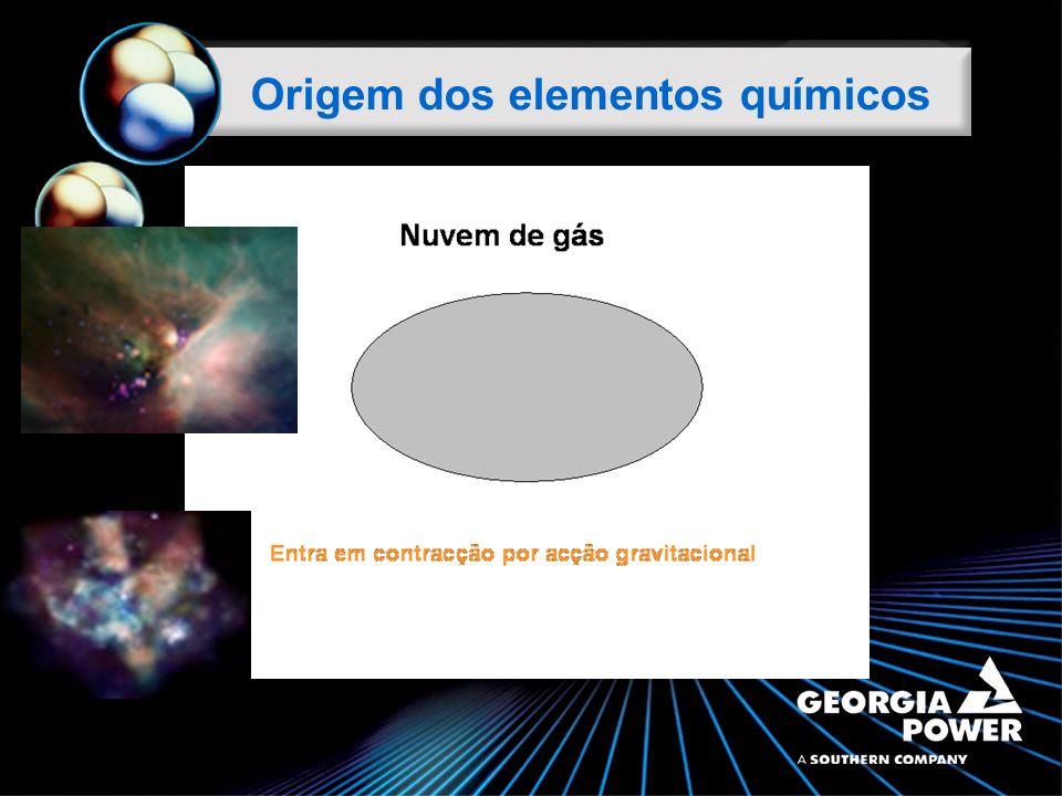 Origem dos elementos químicos