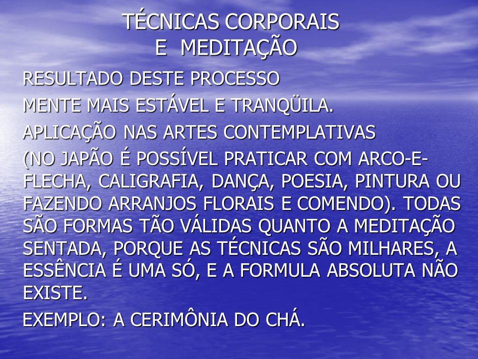 TÉCNICAS CORPORAIS E MEDITAÇÃO TÉCNICAS CORPORAIS E MEDITAÇÃO 5- MEDITAÇÃO DINÂMICA 5- MEDITAÇÃO DINÂMICA CRIADA PELO LÍDER ESPIRITUAL MOHAN CHANDRA RAJNEESH (OSLO) ESPECIALMENTE PARA OCIDENTAIS.