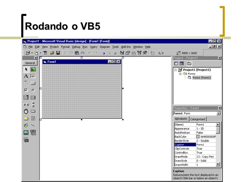 Rodando o VB5