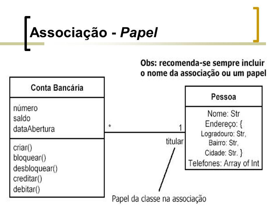 Associação - Papel