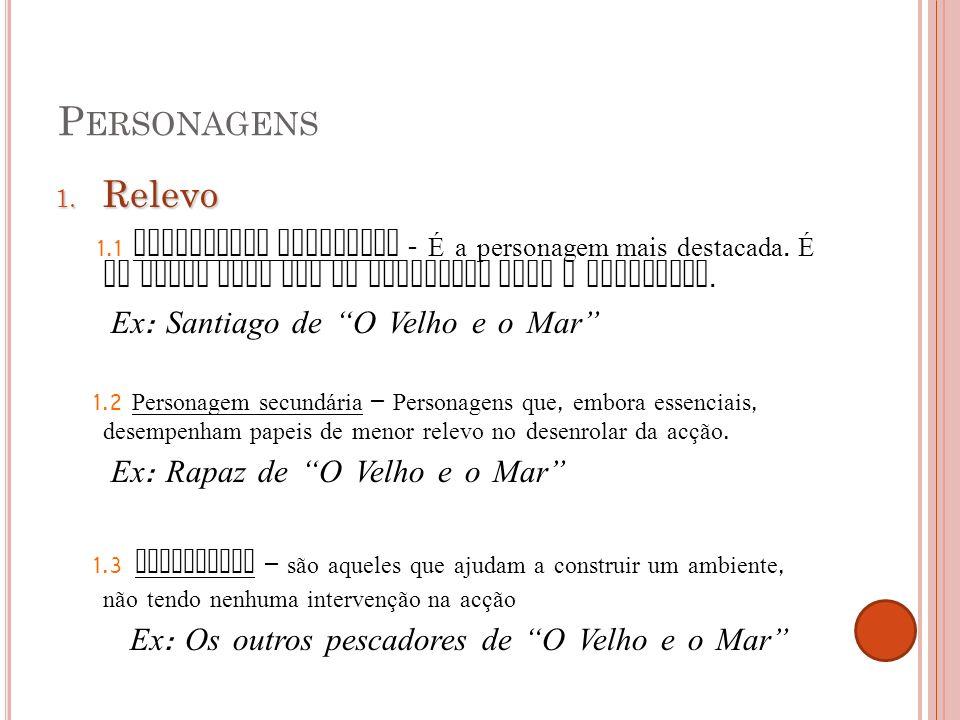 P ERSONAGENS 2.
