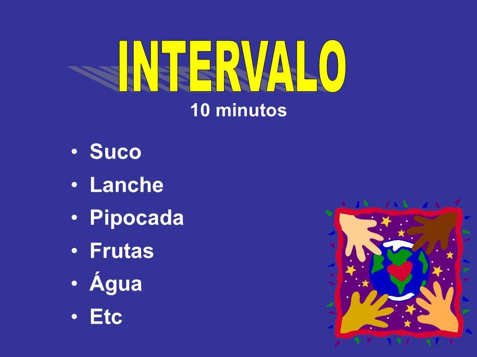 10 minutos Suco Lanche Pipocada Frutas Água Etc