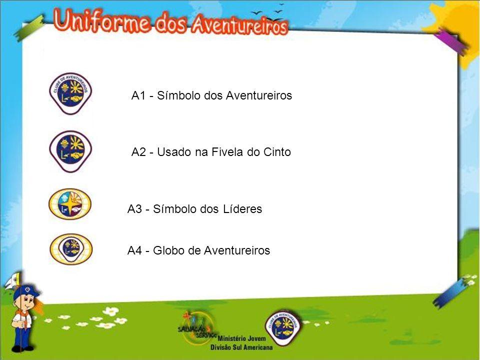 A1 - Símbolo dos Aventureiros A2 - Usado na Fivela do Cinto A3 - Símbolo dos Líderes A4 - Globo de Aventureiros