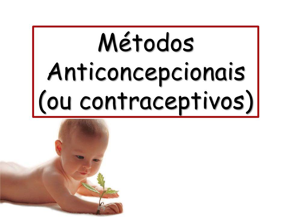 Métodos Anticoncepcionais (ou contraceptivos)
