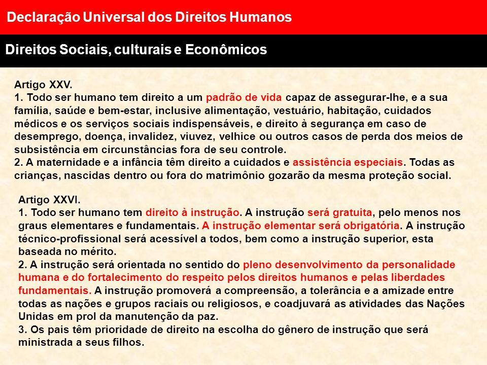 Artigo XXII. Todo ser humano, como membro da sociedade, tem direito à segurança social, à realização pelo esforço nacional, pela cooperação internacio