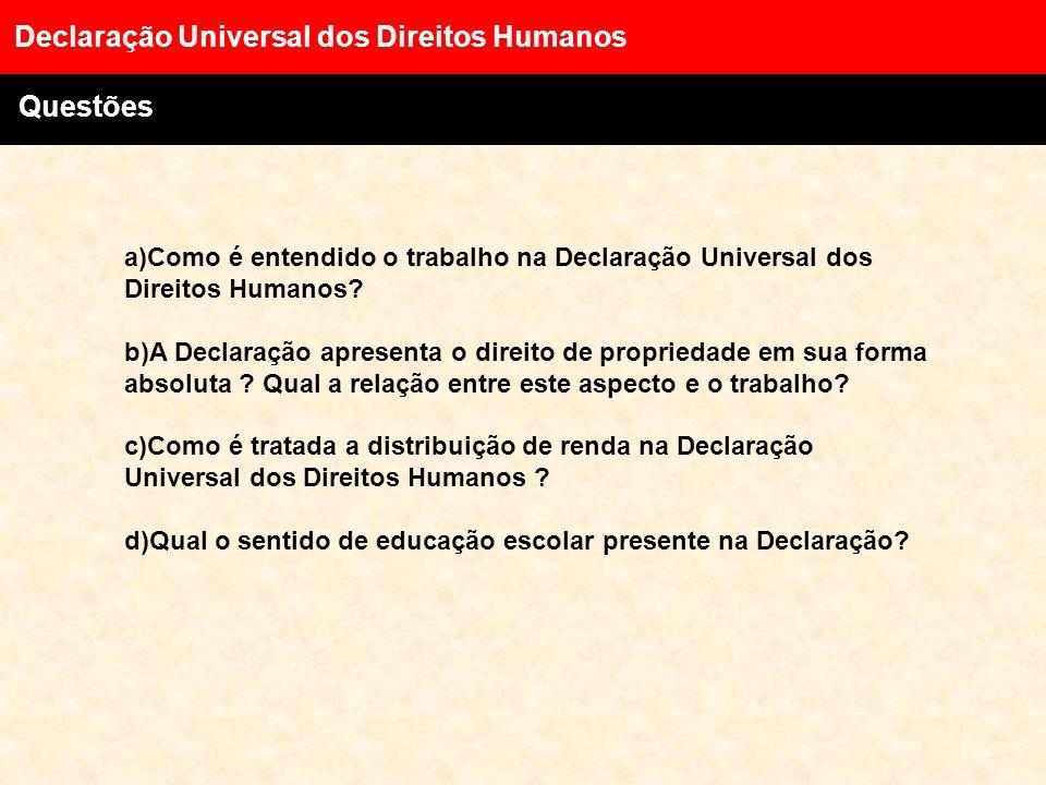 Declaração Universal dos Direitos Humanos Direitos Sociais, culturais e Econômicos Artigo XXV. 1. Todo ser humano tem direito a um padrão de vida capa