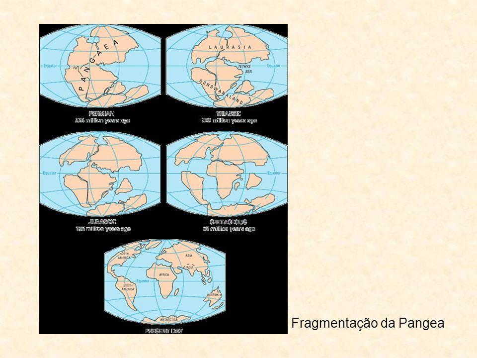 Fragmentação da Pangea