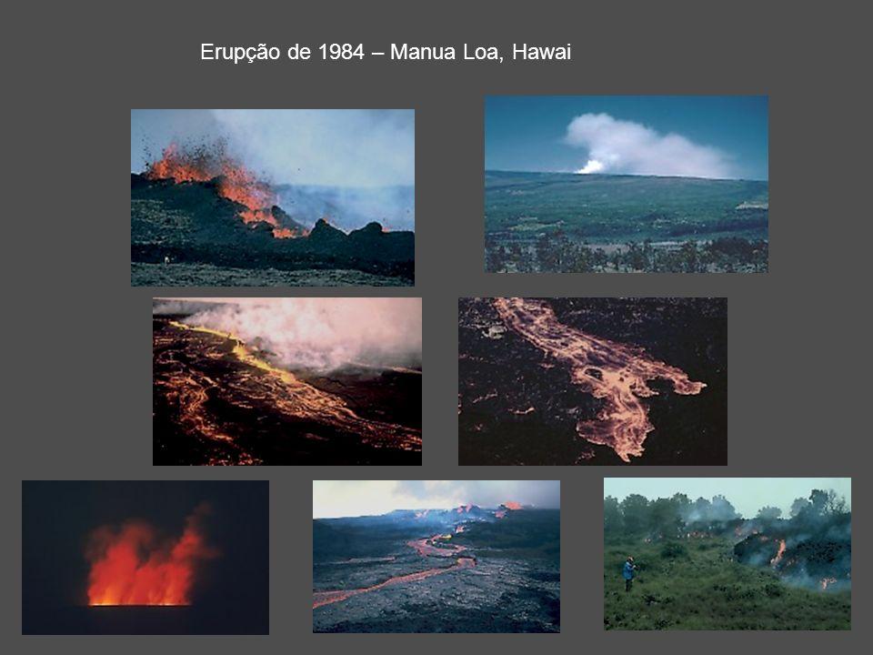 Erupção de 1984 – Manua Loa, Hawai