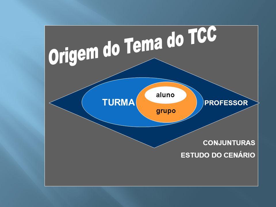 CONJUNTURAS ESTUDO DO CENÁRIO PROFESSOR TURMA grupo aluno