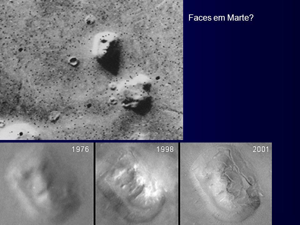 Faces em Marte?