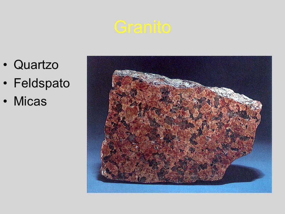Granito Quartzo Feldspato Micas