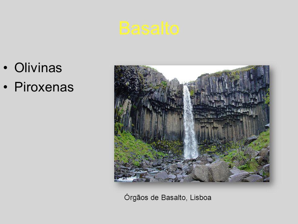 Basalto Olivinas Piroxenas Órgãos de Basalto, Lisboa