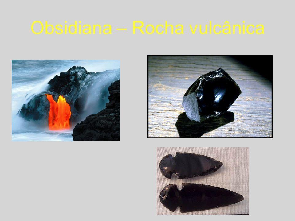 Obsidiana – Rocha vulcânica