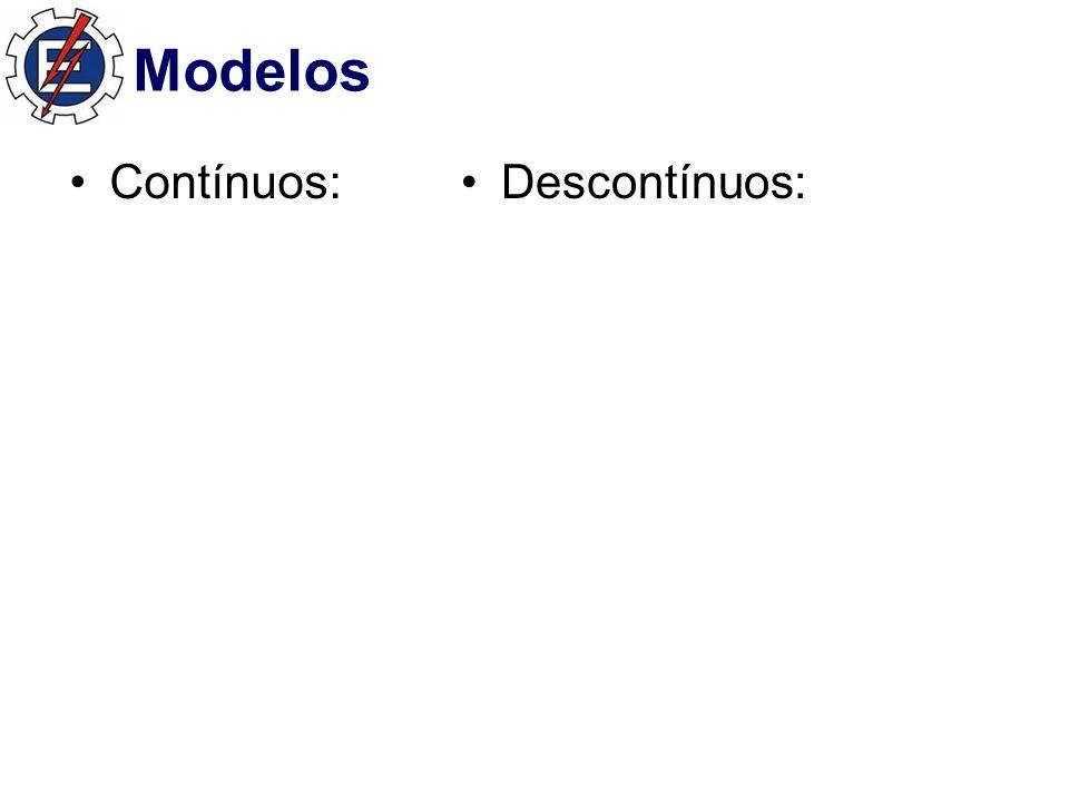 Modelos Contínuos:Descontínuos: