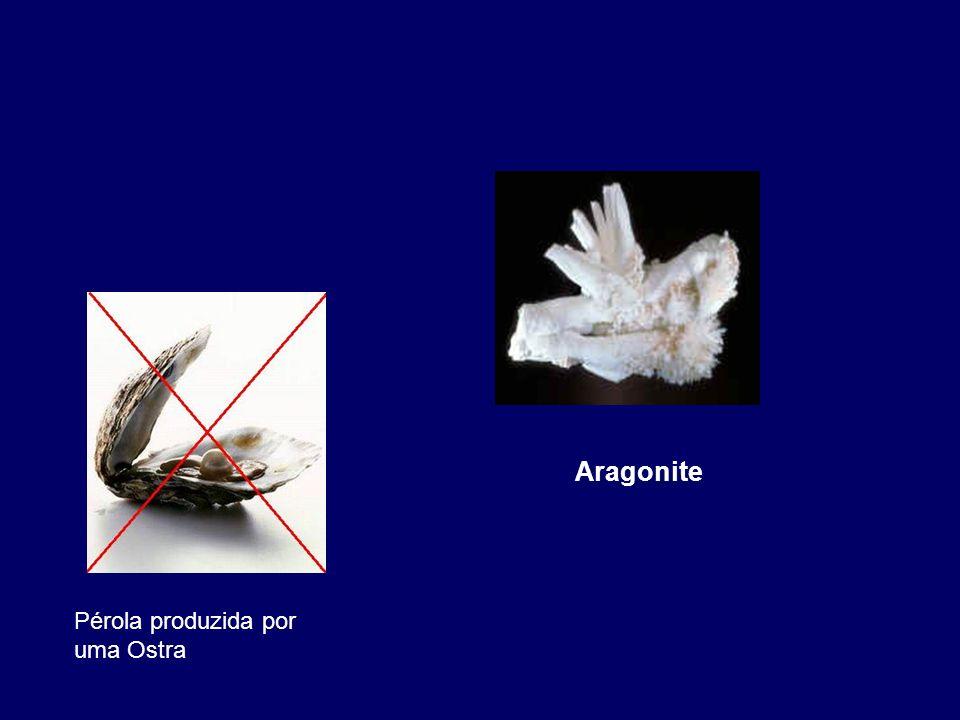 Carbonatos – CO 3 2- Aragonite – CaCO 3 Sulfatos – SO 4 2- Rosa do Deserto – CaSO 4. 2H 2 O