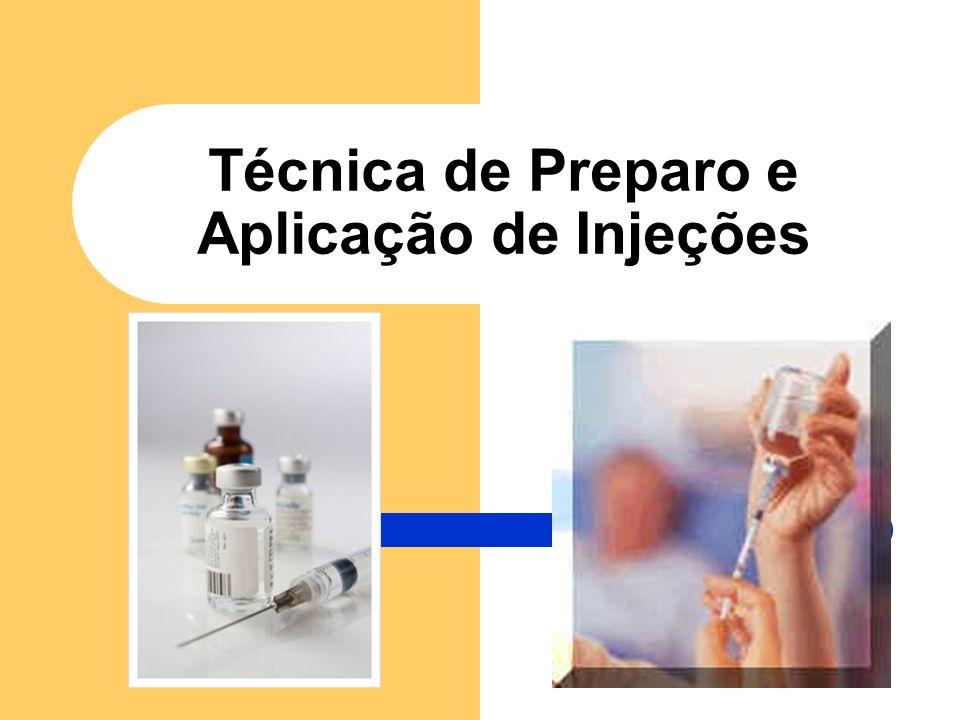 Técnica de Preparo e Aplicação de Injeções