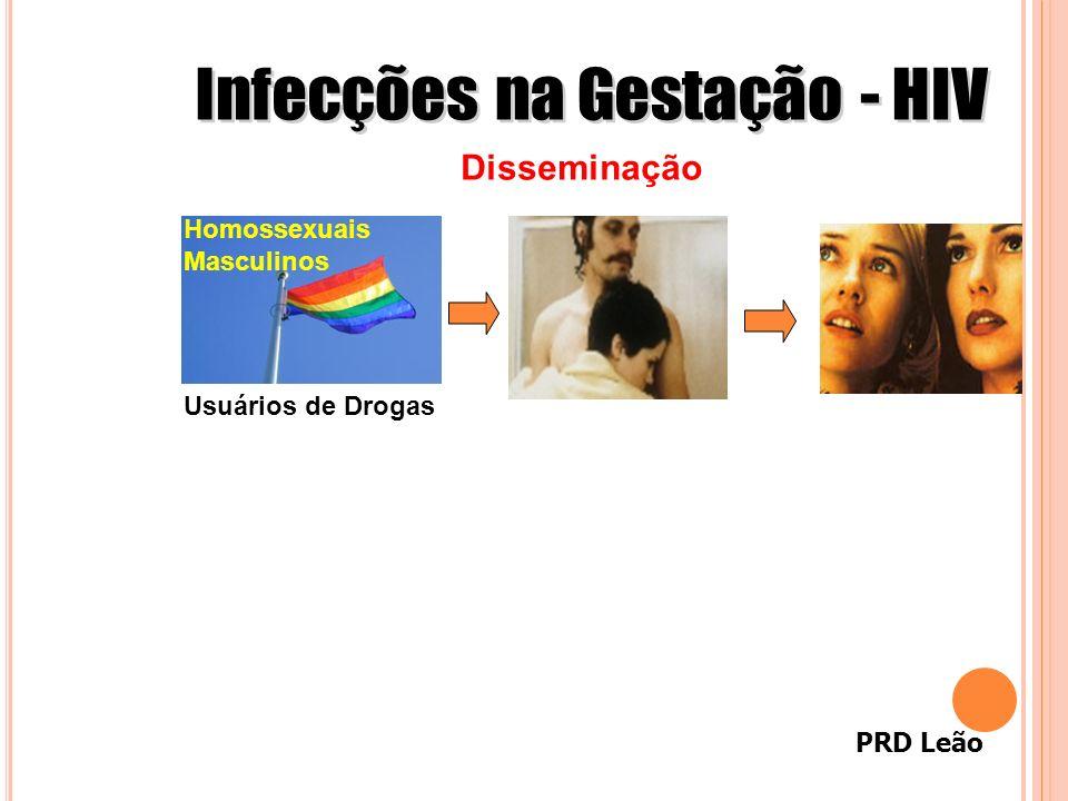 PRD Leão Homossexuais Masculinos Usuários de Drogas Disseminação