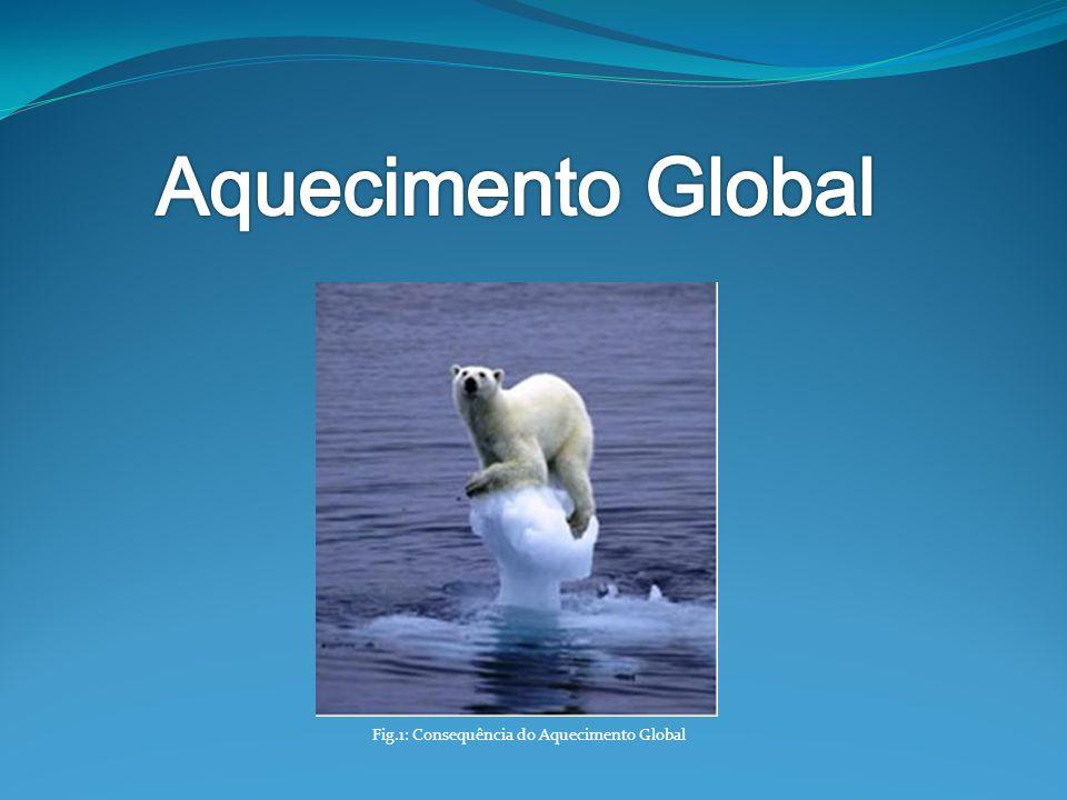 Fig.1: Consequência do Aquecimento Global