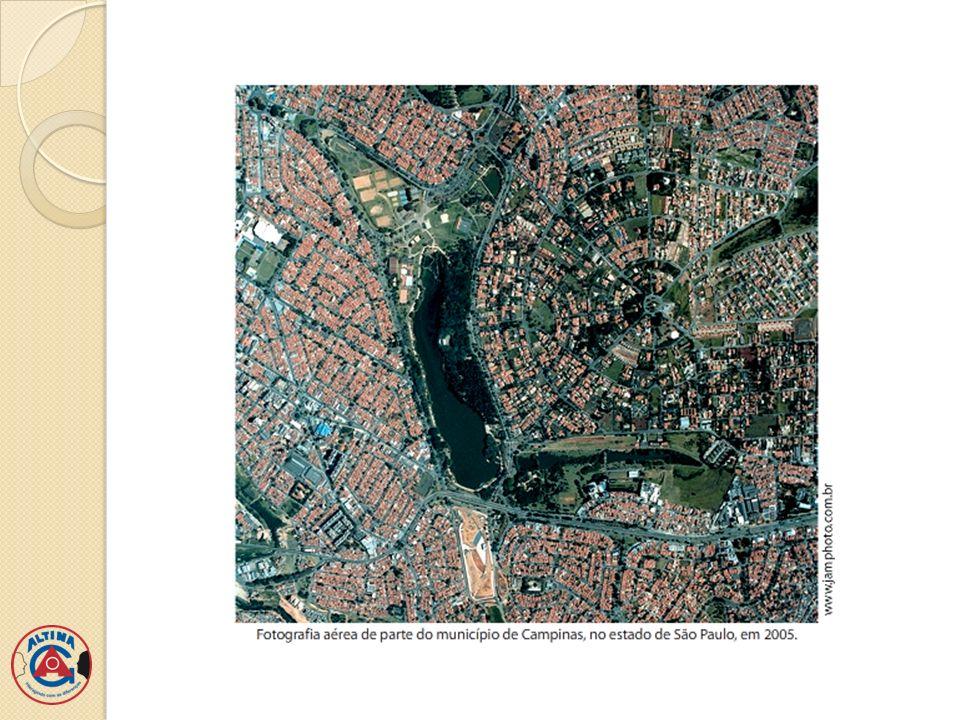 Vista parcial da cidade de Ipatinga-MG Fonte: Google Maps 2013