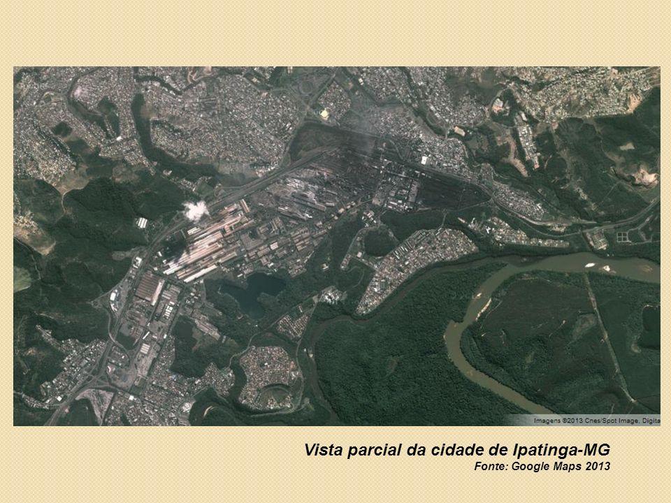 Escola Municipal Altina Olívia Gonçalves, bairro Iguaçu, Ipatinga-MG Fonte: Google Maps 2013