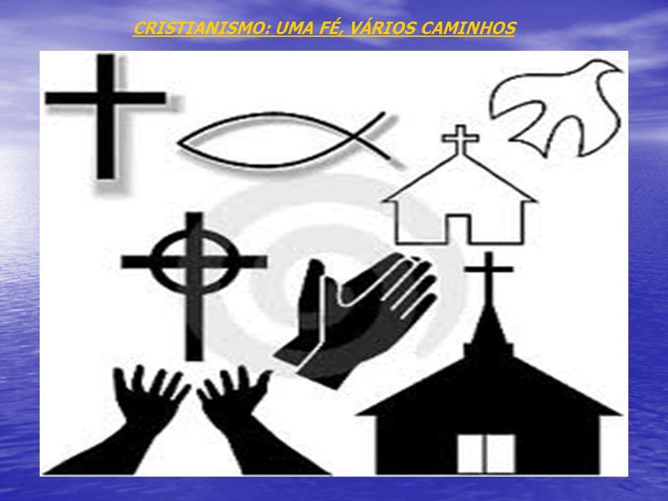 A história: O cristianismo é a religião dos que acreditam que Jesus Cristo é Filho de Deus, morreu e ressuscitou; Filho de Deus e de Maria, Jesus nasc