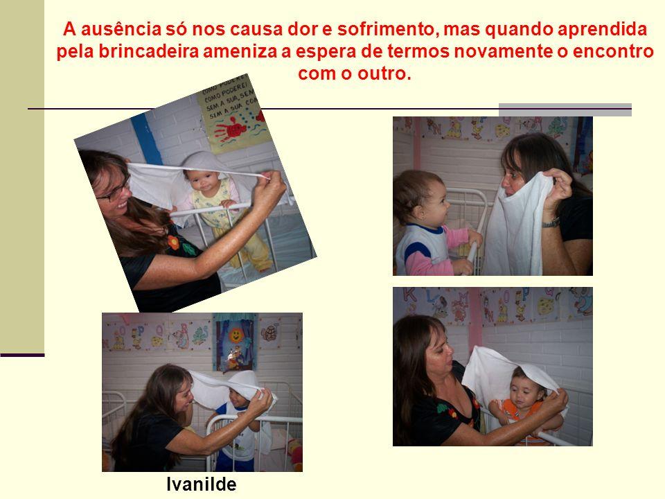 Na brincadeira a criança atualiza e amplia seu conhecimento prévio, transformando –os por meio da criação de uma situação imaginária.