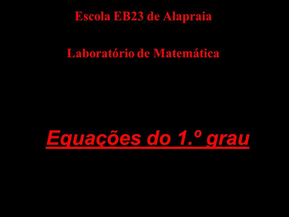 FIM Laboratório de Matemática da Escola Eb23 de Alapraia Março de 2006