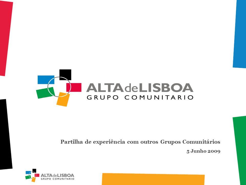 Partilha de experiência com outros Grupos Comunitários 5 Junho 2009