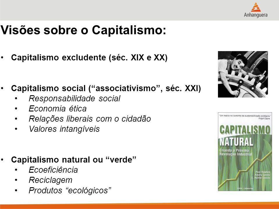Visões sobre o Capitalismo: Capitalismo excludente (séc.