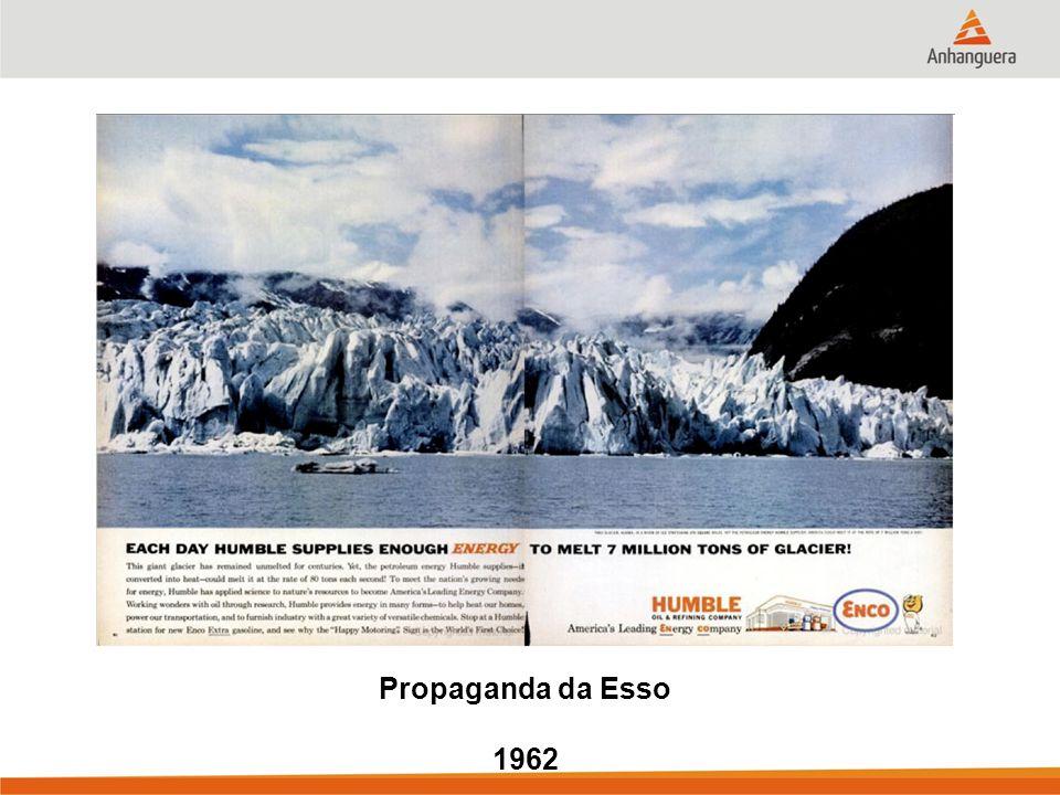Propaganda da Esso 1962