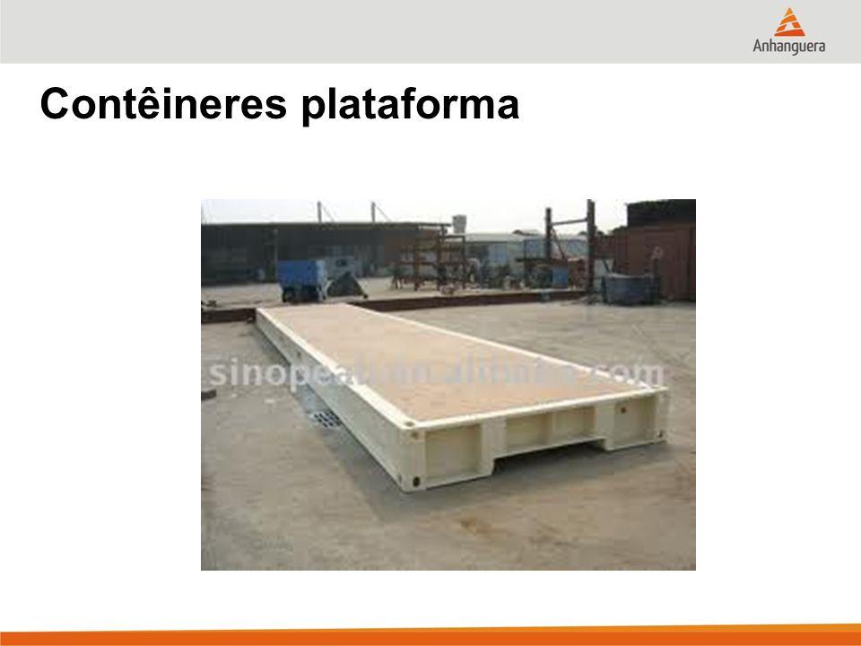 Contêineres plataforma
