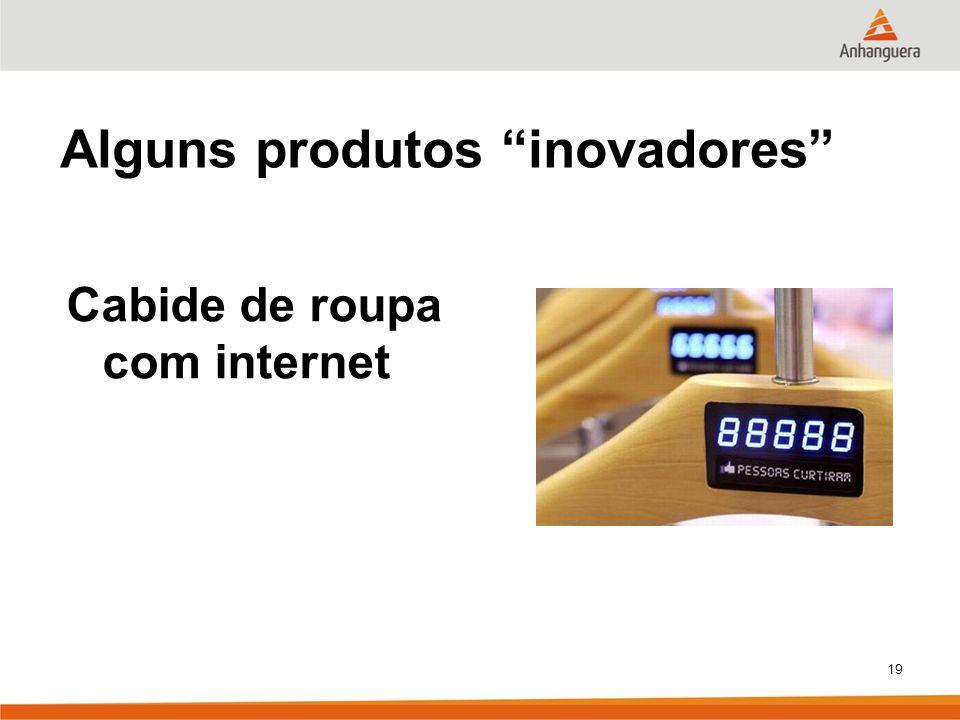 19 Alguns produtos inovadores Cabide de roupa com internet