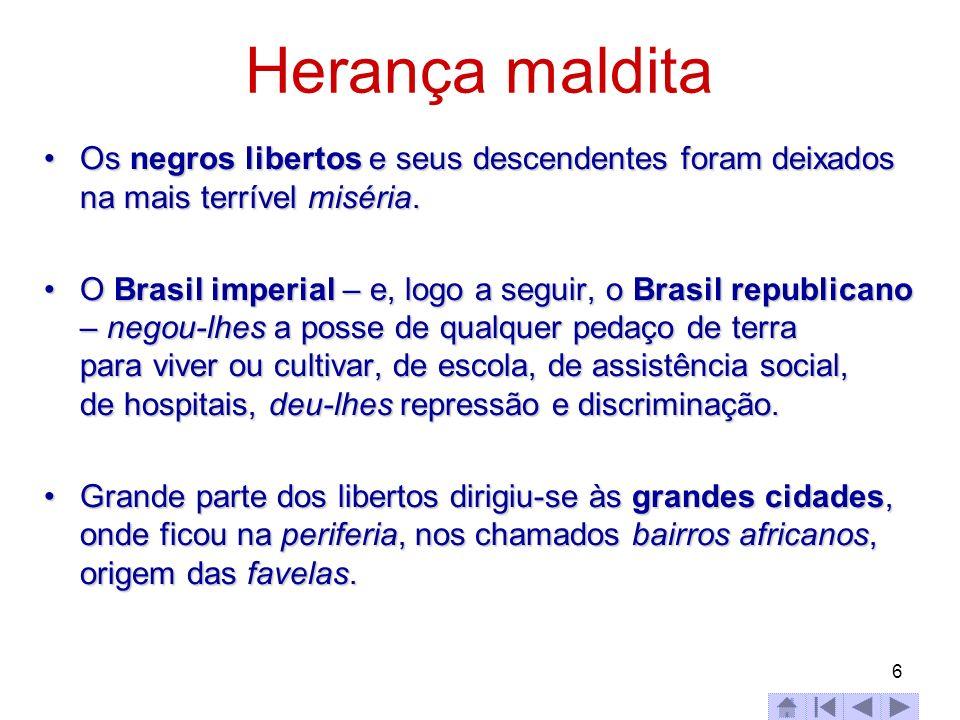 17 Brasil - nº de municípios e população fonte:IBGE, Censo Demográfico 2000.