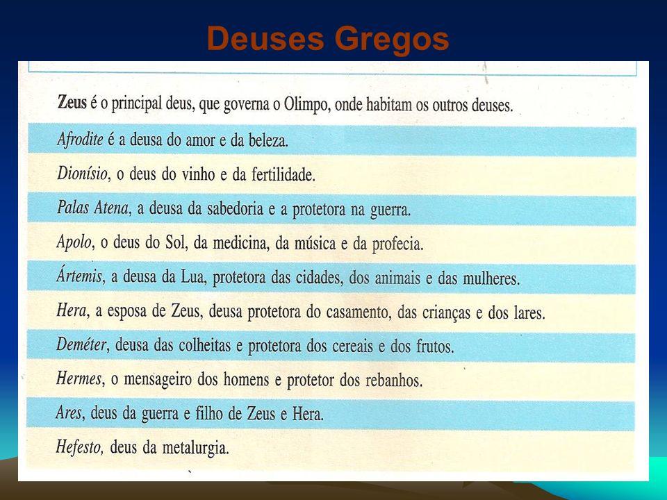 SEMIDEUSES HÉRCULES Um dos mais populares heróis da Grécia Antiga, que realizou proezas de grande perigo, os chamados doze trabalhos de Hércules,entre eles a morte da Hidra, a captura de Cérbero e a libertação de Prometeu.