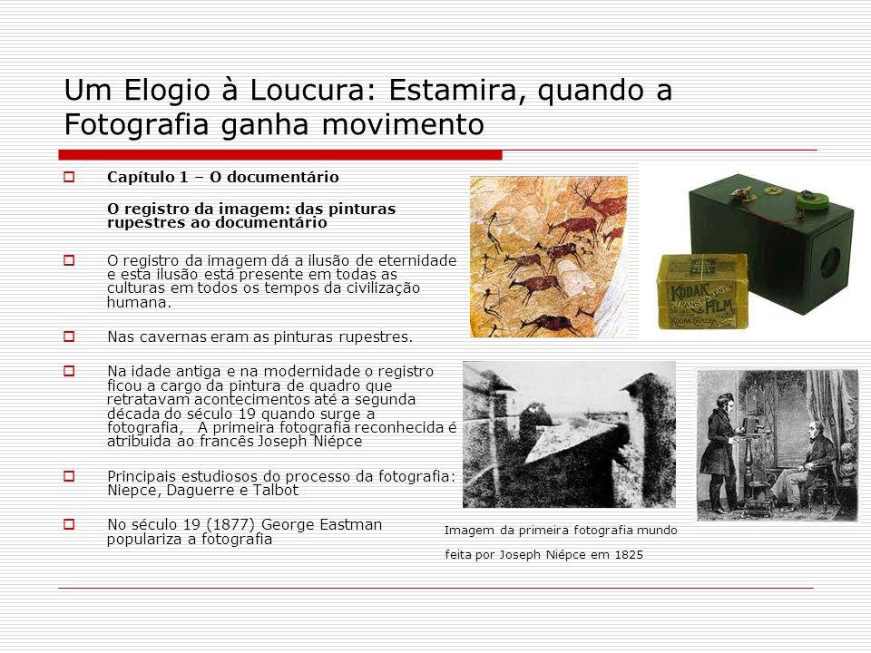 Um Elogio à Loucura: Estamira, quando a Fotografia ganha movimento Capítulo 1 – O documentário O registro da imagem: das pinturas rupestres ao documen