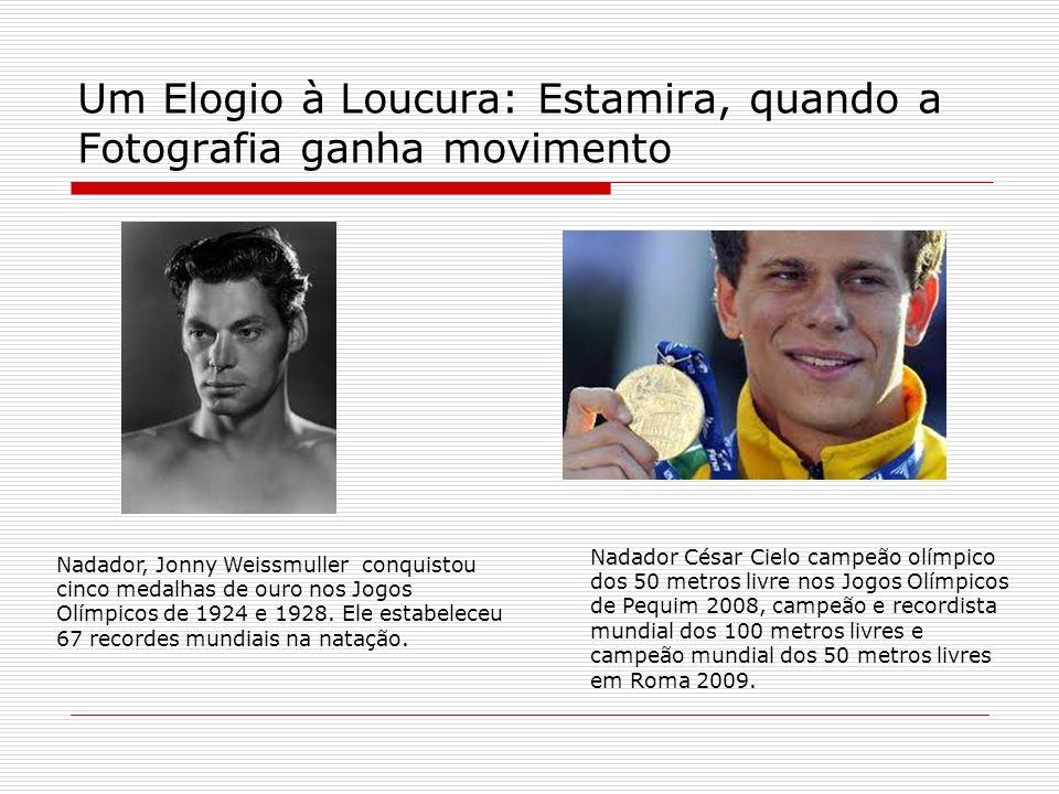 Um Elogio à Loucura: Estamira, quando a Fotografia ganha movimento Nadador César Cielo campeão olímpico dos 50 metros livre nos Jogos Olímpicos de Peq