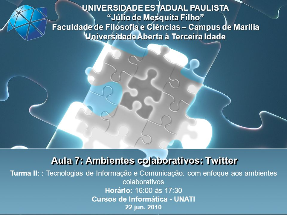 Redes sociais http://www.youtube.com/watch?v=DmRsQibIOWg