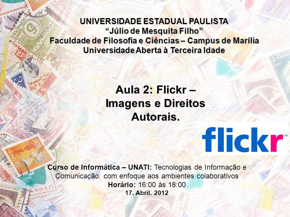 O que é o Flickr.Flickr é um site de serviços de hospedagem de imagem e vídeos.