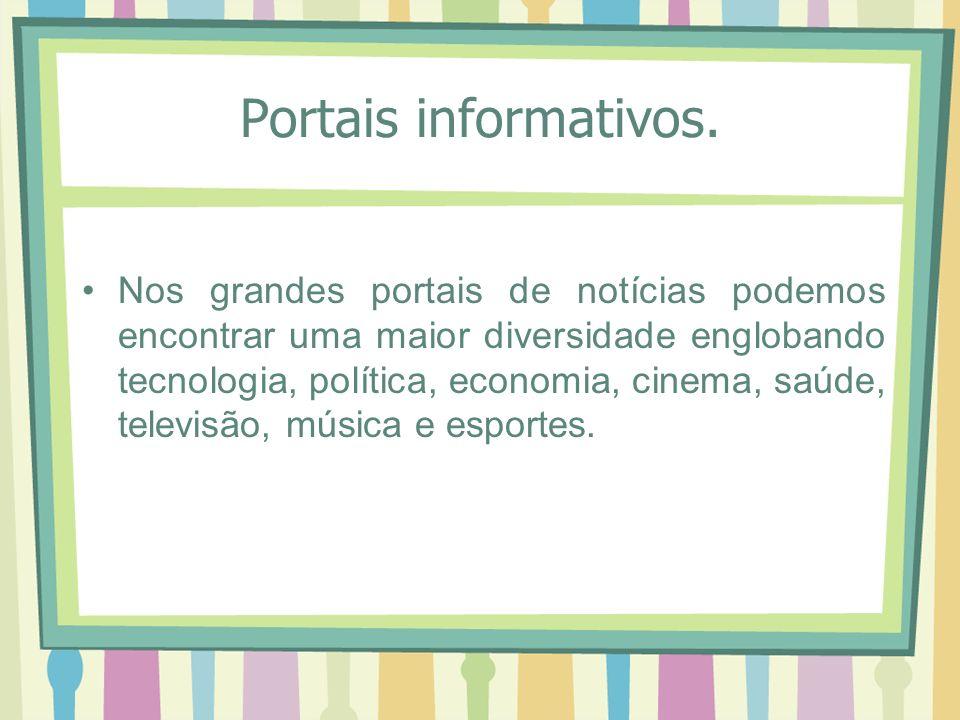 Agora digite no navegador www.g1.com.br Busque uma noticia que preferir e envie novamente por e-mail clicando em compartilhar.