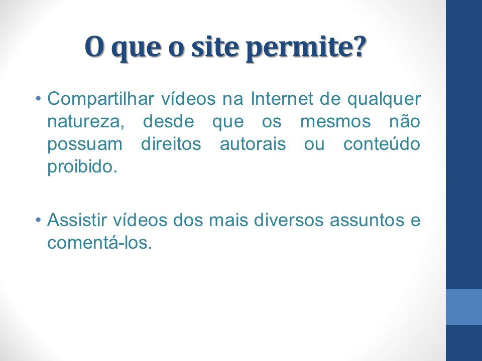 Outros Websites Além do Youtube,há outros websites que você pode acessar vídeos de notícias,novelas,filmes.