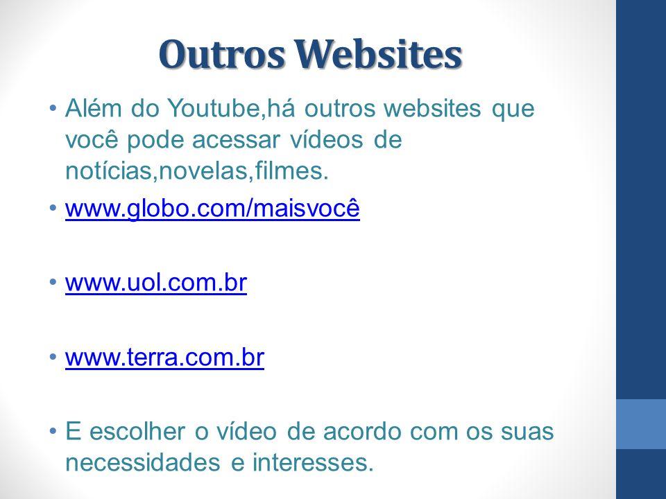 Acessar o Youtube.