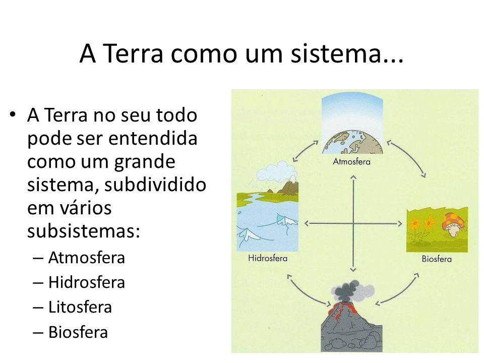 A Terra como um sistema...