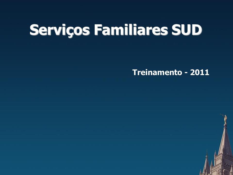 Serviços Familiares SUD Treinamento - 2011