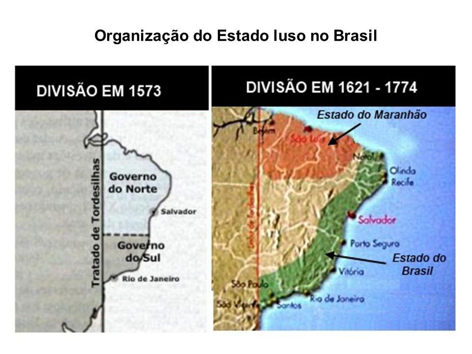 Organização do Estado luso no Brasil
