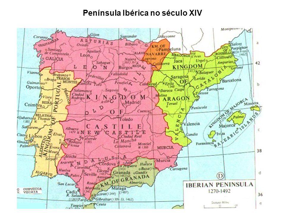 Península Ibérica no século XIV